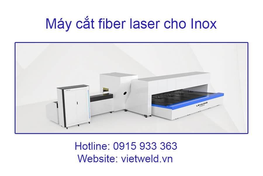 may cat fiber laser cho inox